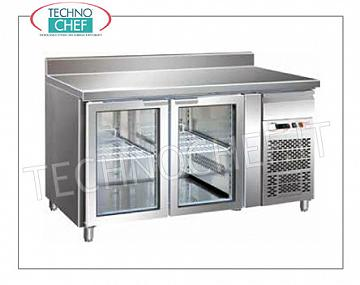 Refrigerated refrigerator / freezer tables Gastronorm Reversing the floor for Mod. FO-GN2100TNG