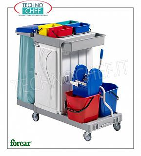 Multi-purpose serving trolleys
