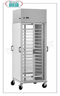Refrigerated plate-carrying trolleys, capacity 10 Gastro-Norm 2/1 grids, adjustable REFRIGERATED CONTAINER TROLLEY with 10 PAINTED GRILLED PLATES Gastro-Norm 2/1 (mm.650x530), ADJUSTABLE in HEIGHT with a STEP of 60 mm, ventilated refrigeration, temperature + 8 ° / + 12 ° C, V.230 / 1, Kw 0.46, dim.mm.750x780x2030h