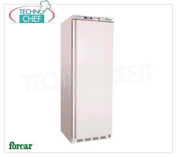 Forcar - Freezer-Freezer CABINET, lt. 340, Static, Temp.-18 ° / -22 °, Class B, model G-EF400 Professional Fridge / Freezer Cabinet, 1 Door, lt. 340, Temp.-18 ° / -22 ° C, ECOLOGICAL in CLASS B, GAS R600a, Static with internal fan, V. 230/1, Kw 0.15, Weight 74 Kg, dim.mm.600x585x1855h