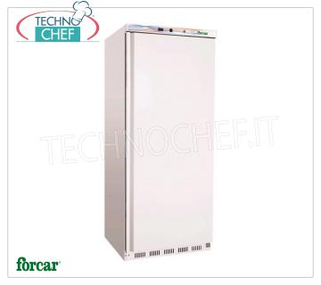 Forcar - Freezer-Freezer CABINET, lt. 555, Static, Temp.-18 ° / -22 °, Class B, model G-EF600 1 Door Refrigerator / Freezer Cabinet, Professional, lt. 555, Temp. -18 ° / -22 ° C, CLASS B ECO-FRIENDLY, GAS R600a, static with internal fan, V 230/1, Kw.0.3, Weight 94 Kg, dim.mm.775x695x1895h