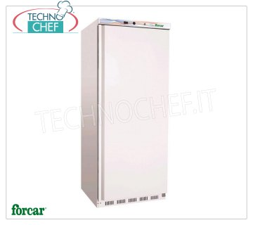 Forcar - Pastry-Pizzeria Fridge Cabinet 1 Door, for 6 TRAYS 60x40, Class C, mod.ER500P 1 Door Pastry-Pizzeria Refrigerator Cabinet, white sheet exterior, ABS interior, lt. 520, Temp. + 2 ° / + 8 ° C, EC-CLASS in Class C, Gas R600a, Static with internal fan, V.230 / 1 , Kw.0,15, Weight 90 Kg, dim.mm.777x695x1895h