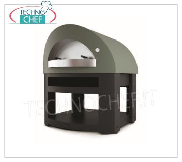 WOOD OVEN for PIZZA 'OPERA' WOOD OVEN for PIZZA 'OPERA', with refractory 1200x1000 hob, 7 pizzas capacity Ø 33 cm, Weight 450 Kg, dim.mm.1460x1500x1700h