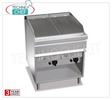 TECHNOCHEF - GAS VAPOR-WATER GRILL, DOUBLE module on DAY COMPARTMENT, Mod.G9WG80M GRILL VAPOR-GAS WATER, BERTO'S, MAXIMA 900 Line, WATER GRILL Series, DOUBLE module on DAY COMPARTMENT with 700x630 mm COOKING AREA, heat output Kw.24,00, Weight 105 kg, dim.mm.800x900x900h