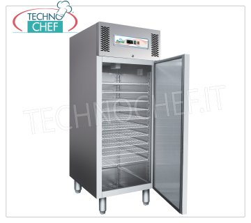 Forcar - Pastry-Ice Cream Freezer Cabinet, lt. 737, Ventilated, Temp. -10 ° / -22 ° C, model G-GE800BT ICE CREAM Fridge / Freezer Cabinet, 1 Door 737 lt., Professional for 54 TRAYS of 5 lt, Temp. -10 ° / -22 ° C, Ventilated, ECOLOGICAL Class D, Gas R290, V.230 / 1, Kw. 0,7, Weight 162 Kg, dim.mm.740x990x2010h