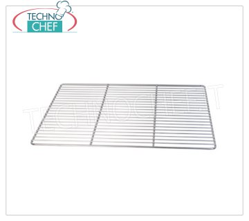 Technochef - STAINLESS STEEL GRID GN 2/1, Mod.A0171 GN 2/1 stainless steel grid (mm 650x530)