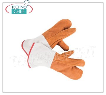 Heat resistant gloves with very high thermal resistance, 350 ° C. for 20 seconds max Glove with high thermal protection, heat resistance by contact up to: 350 ° C. for 20 seconds, long mm. 350 - Sold in pairs