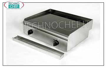TECHNOCHEF - Electric Hob / Fry Top with Smooth Glass Ceramic Plate, Mod.PFT.A.04 HOB / FRY TOP in SMOOTH GLASS, ELECTRIC table top, 2 INDEPENDENT COOKING ZONES from 1.5 + 1.5 kW, ADJUSTABLE TEMPERATURE from 50 ° to 400 ° C, V 230/1, Kw 1.5 + 1, 5, dimensions 400x460x170h mm