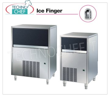 ICE FINGER ice makers / hollow cubes with storage