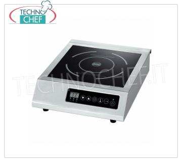 Technochef - Table INDUCTION PLATE, USEFUL SURFACE Ø 250 mm INDUCTION PLATE for table, USEFUL SURFACE: DIAMETER 250 MM, POWER 3.0 Kw, V. 230/1, external dimensions mm. 300x415x100h