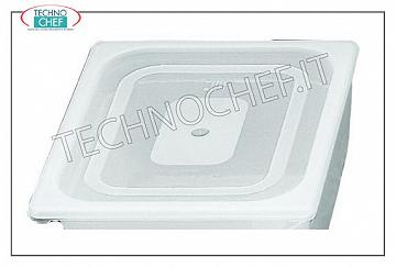 Lid for gastronorm bowl 1/6 Lid for container in gastro-norm polypropylene 1/6