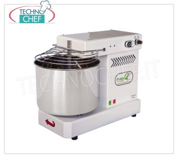 FAMAG - Technochef, Grill, Spiral Dough Mixer 8 Kg, 10 SPEED, mod. IM8 / 230 FAMAG Professional spiral mixer with fixed head and 11 liter tank, mixing capacity 8 Kg, 10 SPEED, V 230/1, kW 0.35, Weight 30 Kg, dim.mm.520x280x530h