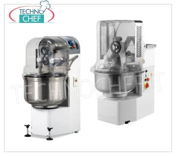 plunging-arm kneading machines