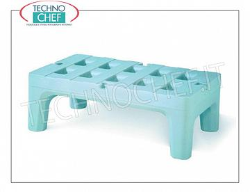 Support bars for refrigerating cell Support stand for refrigerator cell, made of double-walled polyethylene in one piece, flow Kg 683, dim.mm.760x560x300h