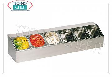 Gastronorm bowl display unit