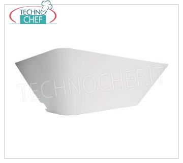 Technochef - INSECT EXTERMINATOR and MOSQUITOES on GLUE PLATE, Mod.LURA Glue-plate insect extermination lamp, coverage 60 m2, V.230 / 1, Watt 20, dim.mm.465x190x155h