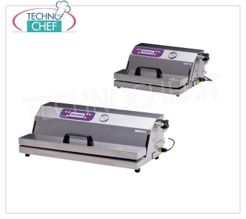 External suction vacuum packing machines