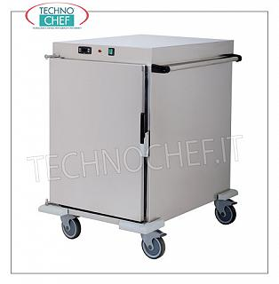 Mobile hot holding food cabinets