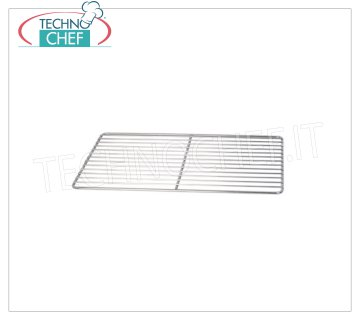 Technochef - STAINLESS STEEL WIRE GRID GN 1/1, Mod.A0170 1/1 Gastro-Norm stainless steel wire grid (530x325 mm).