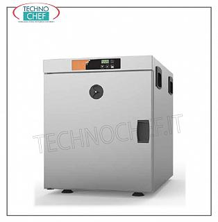Temperature maintainer, static warm cabinet, for Gastro-Norm 1/1 Trays STATIC CONSUMPTION HOT CABINET LOW CONSUMPTION counter, capacity 5 GN 1/1 trays 150 mm high, V 230/1, 1.0 kw, Weight 27 Kg, dimensions 450x635x550h mm