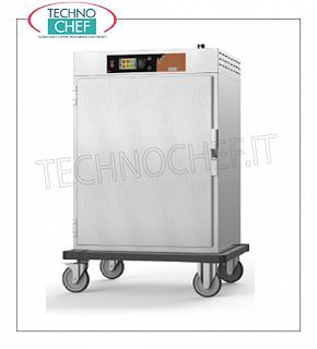 Regeneration and hot holding food cabinets