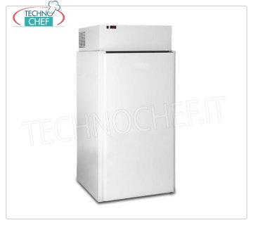MINI FREEZER-FREEZER, Temp. -18 ° / -20 ° C, lt. 1400, mod.MC100WHIBT Freezing minicella suitable for low temperature -18 ° / -20 ° C, made of white painted sheet, thickness 60 mm, with stainless steel floor, 1 door, 3 internal shelves, V.230 / 1, Kw.0, 7, Weight 190 Kg, dim.mm.1000x1000x2120h