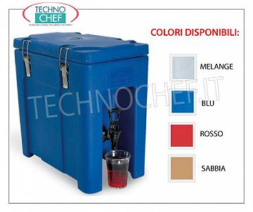Isothermal containers for drink distribution