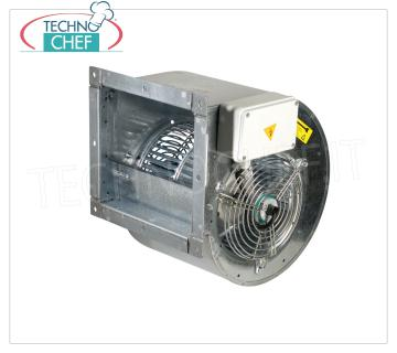 Direct-drive centrifugal fans for hoods