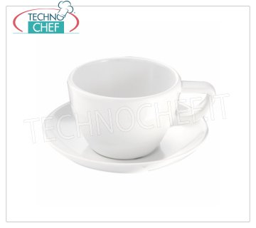 Technochef - MELAMINE CUP Ø 98 mm, Mod. MPA22180 White melamine cup, capacity 250 ml, diameter 98 mm, height 65 mm.