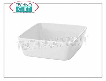 Casserole Dishes High square baking dish, cm.22x22, h.10, Marca MPS PORCELAIN SARONNO