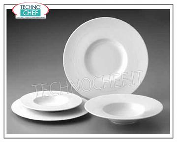 GURAL PORSELEN - Porcelain for restaurant GOURMET SOUP PLATE, Madrid White Collection, Brand GÜRAL PORSELEN