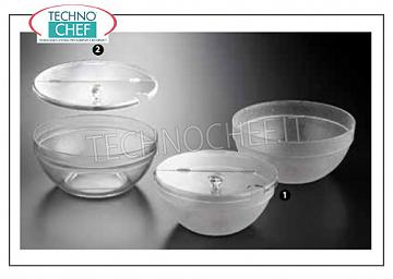 Salad bowl and bowls Stackable polycarbonate salad