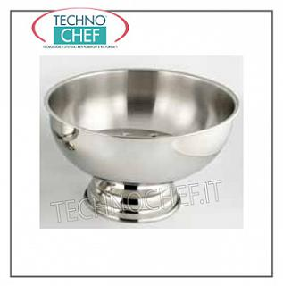 Bowl for sparkling wine and sangria GRAY STAINLESS STEEL SPRAYER, ILSA, Diameter Cm.40