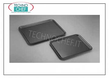 Plastic trays Black plastic tray, 30x40 cm - Available in packs of 10 pieces