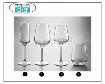 Glasses for the Table - complete coordinated series WATER GLASS, PASABAHCE, Allegra Line