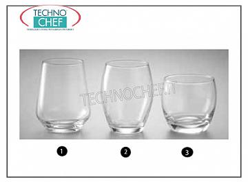 Glasses for water and wine WATER GLASS, PASABAHCE, Barrel Line