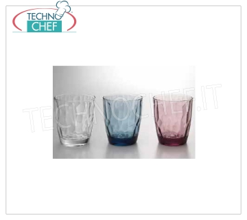 Bar Glasses - Disco TRANSPARENT DOF GLASS, BORMIOLI ROCCO, Diamond Collection
