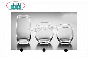 Bar glasses - Disco CALICE ACQUA, BORMIOLI ROCCO, New Kalix Tempered Collection