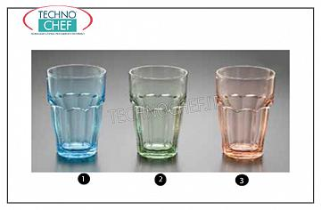Glasses for water and wine LONG DRINK BLUE GLASS, BORMIOLI ROCCO, Rock Bar Lounge Collection Stackable Tempered