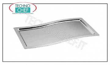 Stainless steel trays STAINLESS STEEL TRAY TRAY GASTRO-NORM 1/1 CM. 53X32,5