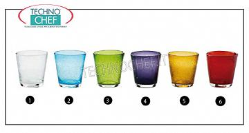 Glasses for Bar - Disco TRANSPARENT WATER GLASS, Bollicine Collection