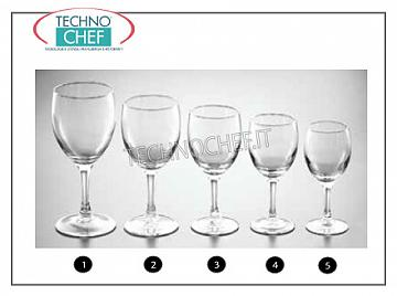 Glasses for the Table - complete coordinated series CALICE SHERRY, ARCOROC, Elegance Collection
