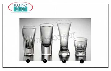 Glasses for Bars - Discotheque LIQUOR BEVERAGE, PIEMONTESE LINE
