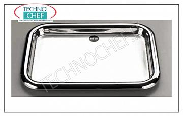 Stainless steel trays RECTANGULAR GLASS GLASS TRAY 39x28