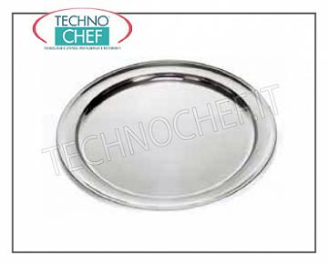Stainless steel trays INOX STAINLESS STEEL TRAY TRAY, CM.80 DIAMETER