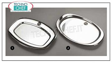 Stainless steel trays ALESSI PORTABLE TRAY