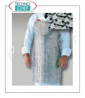 Anti-cut / accident prevention aprons Stainless steel macellacio apron, Cm.70x55