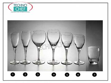 Glasses for the Table - complete coordinated series WATER GLASS, BORMIOLI ROCCO, Crystalline Flower Collection