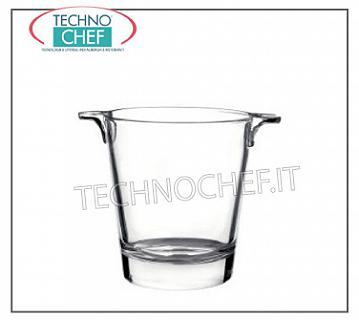 Ice Bucket GLASS ICE BUCKET, YPSILON LINE, BORMIOLI