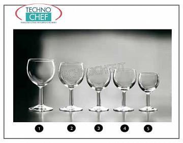 Table Glasses - Complete Coordinate Series WINE CALICE, ARCOROC, Ballon Collection